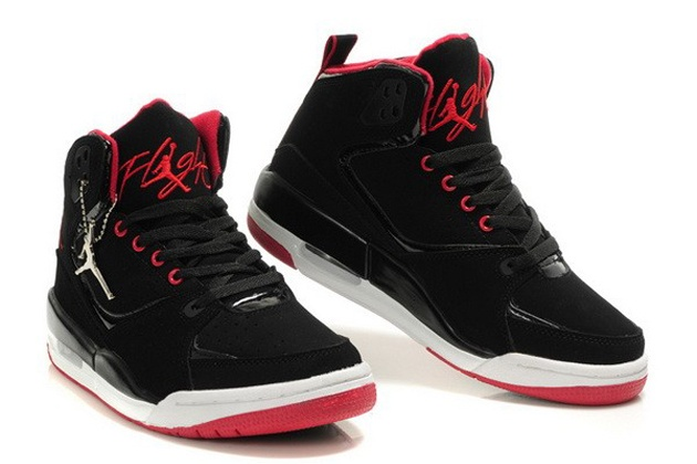 Air Jordan Flight 9 Black Red shoes
