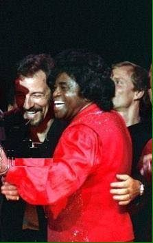 Bruce and James Brown
