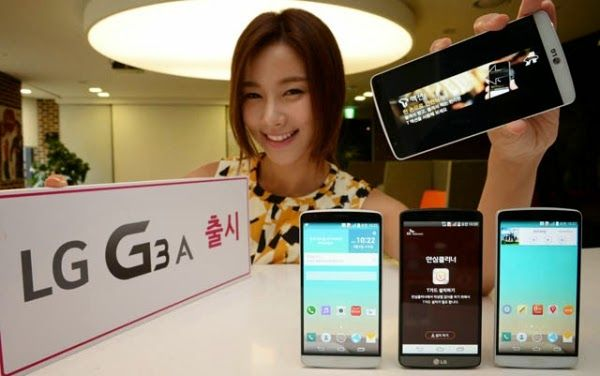All New and Latest Mobile News.: LG announces G3 A in South Korea