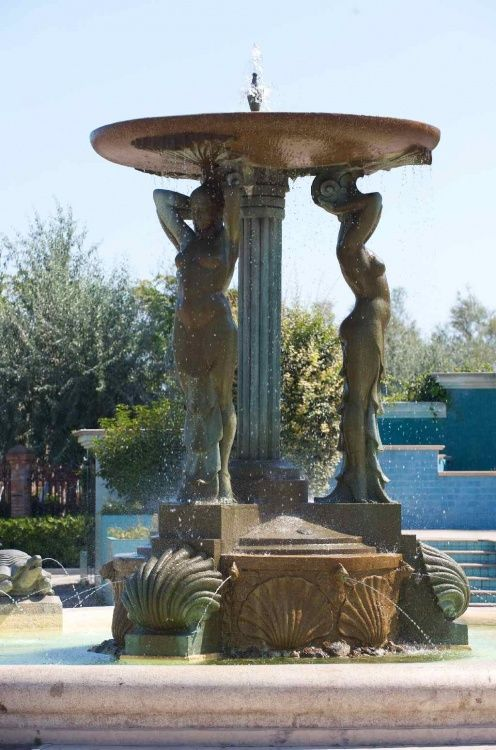 Fontana delle sirene.