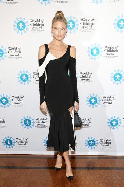 Model Martha Hunt attends the World of Children Awards Ceremony on October 27, 2016 in New York City.