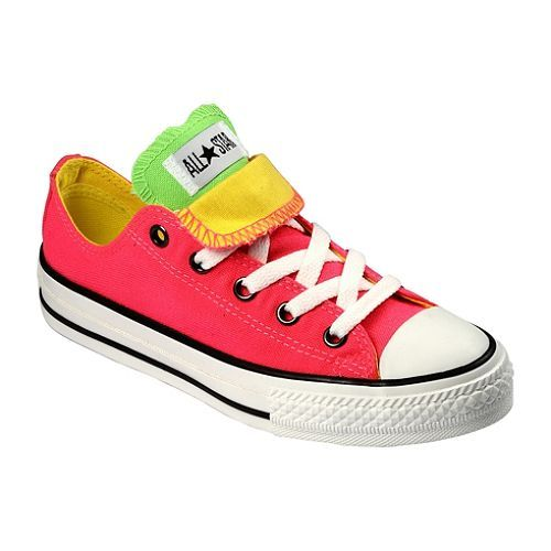 These neon converse are so cool :D Tongue up or down?