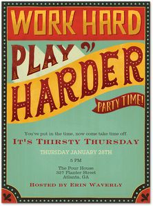20 best Happy Hour images on Pinterest Happy hour party Invites