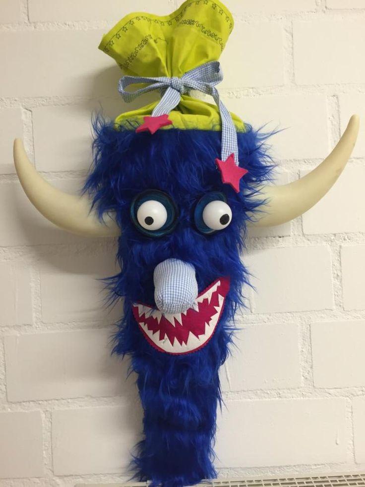 Monster-Schultüte für einen monstermäßigen Schulanfang