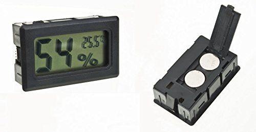 Thermometre Hygrometre – DIGITAL LCD – Cave à vin ou Cigare – Humidité