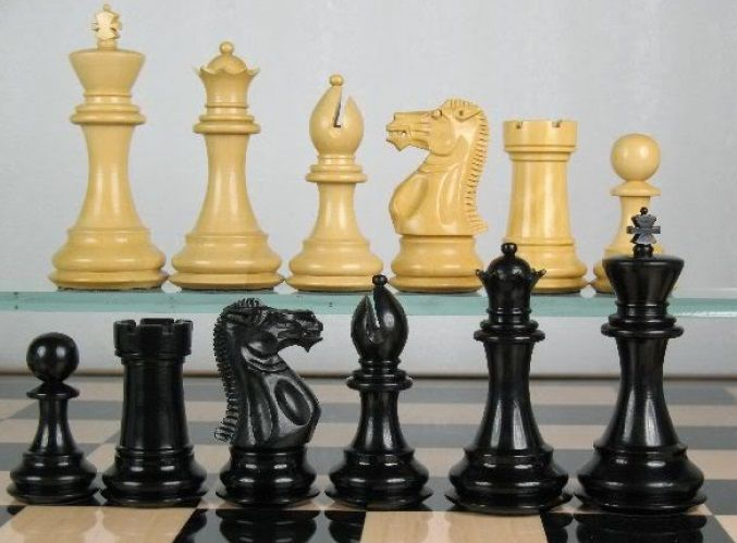 cool and opulent wood chess pieces. Premier Weighted Staunton Chess Set Ebony Wood Piece 4Q  http www 218 best Buy Wooden Pieces chessbazaar com images