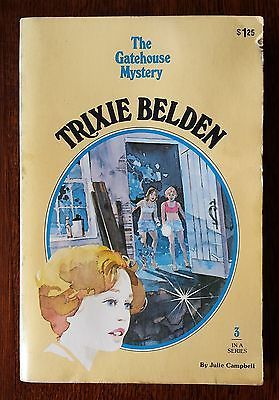 The Gatehouse Mystery by Julie Campbell Trixie Belden 3 acceptable condition PB