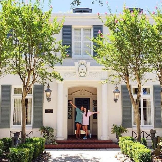 Texas Tri Deltas have already moved into there house this summer!
