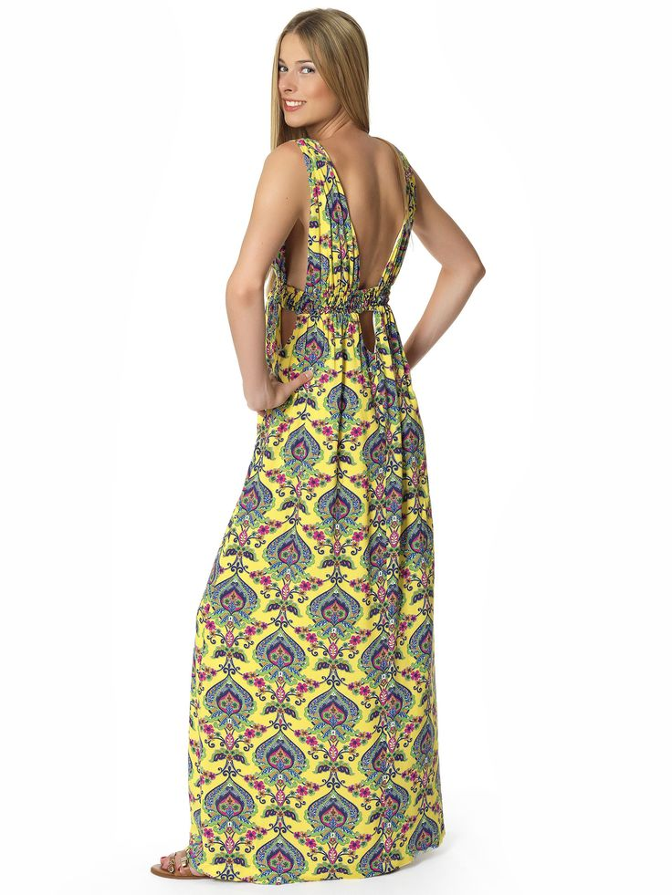 Regalinas cut out maxi dress