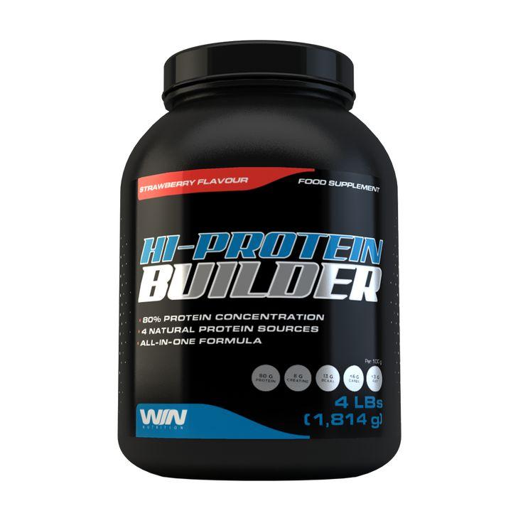 High-Protein Builder a été conçu pour t'offrir les bénéfices de plusieurs sources de protéine, comme la whey et le soja, pour t'aider à augmenter et à conserver ta masse musculaire.