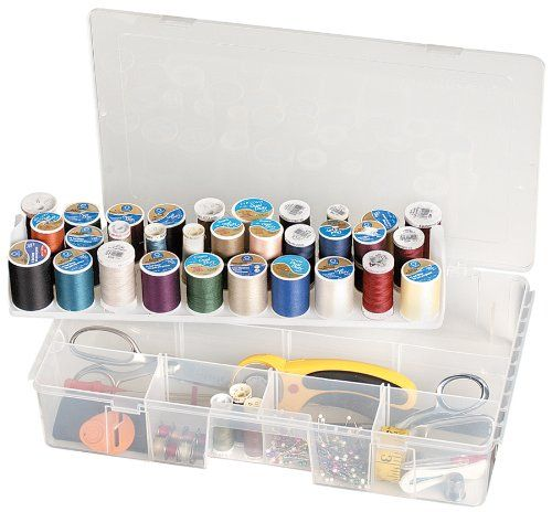 Artbin Sew-Lutions Sewing Basket/Box Made of translucent plasic to easily view supplies. 16 1/2 Inch x9 3/4 Inch x3 1/4 Inch.  #ArtBin #Home
