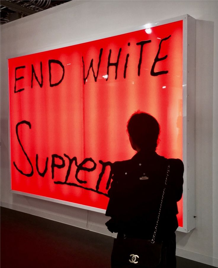 Artist Dana Louise Kirkpatrick Shares Her Art Basel Favorites: End White Supremacy   coveteur.com