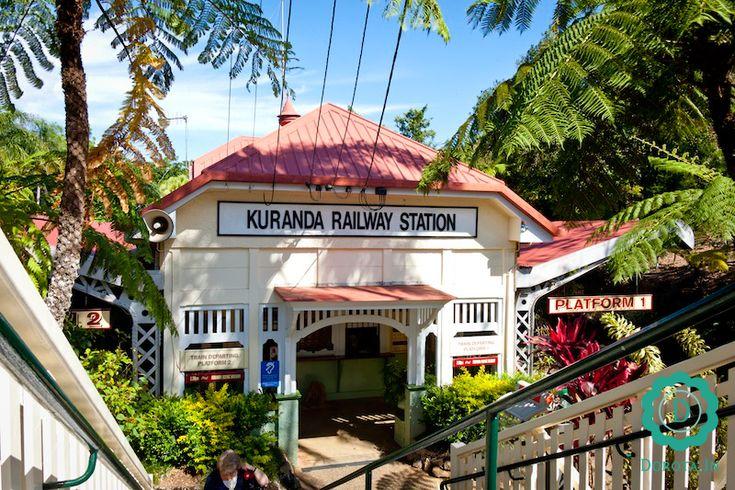 Kuranda Village - wioska, w której my, jako turyści, poczuliśmy się trochę jak na emeryturze ;).  #australia #travel #podróże #kuranda