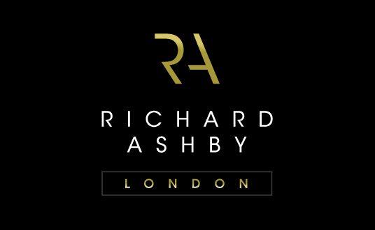 Modern Logo Design   Richard Ashby Logo