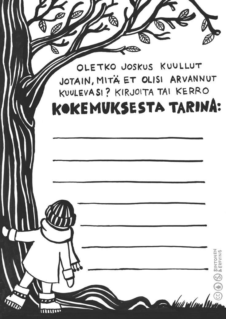 Kortti 13. Koska korvia ei voi sulkea, niin joskus voi kuulla sellaista, mikä yllättää. Onko sinulle käynyt joskus näin? Kerro siitä. Tekijät: Sara Sintonen & Emilia Erfving #mediakasvatus #medialukutaito #monilukutaito #alakoulu #alkuopetus #musiikki #kuvataide #audiovisuaalinen #alkuopetus #moniste #ilmainen #oppimateriaali #suomenkielinen #creativecommons