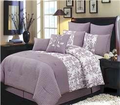 Luxury Bliss Purple Comforter Set   Starting At $157.99