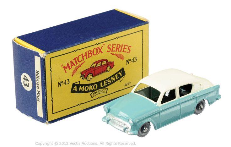 Matchbox Regular Wheels No.43A Hillman Minx | Vectis Toy Auctions