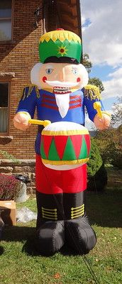 1000 ideas about inflatable christmas decorations on for Airblown nutcracker holiday lawn decoration