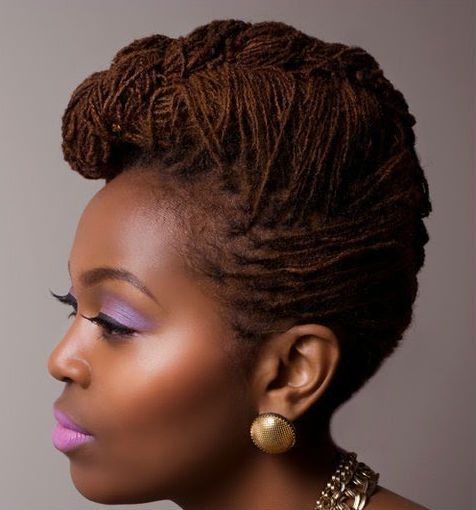 Miraculous 23 Best Images About Sisterlocks On Pinterest Black Women Side Hairstyles For Men Maxibearus
