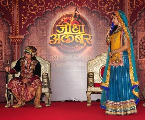 Zee TV and Balaji Telefilms Launch 'Jodha Akbar' TV Show - Rajat Tokas, Paridhi Sharma, Chetan Hansraj, Ashwini Kalsekar, Ekta Kapoor