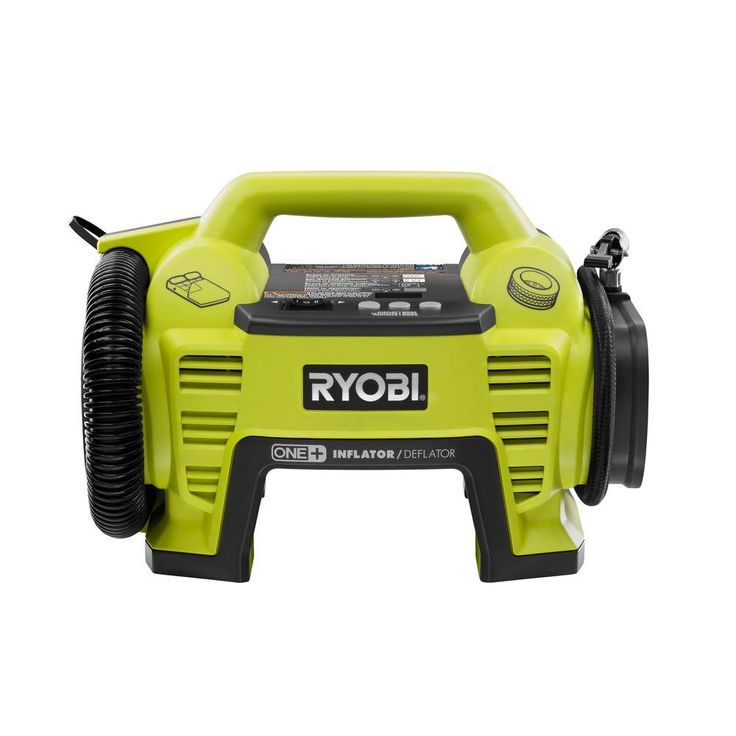 Ryobi 18-Volt ONE+ Dual Function Inflator/Deflator (Tool Only)-P731 - The Home Depot