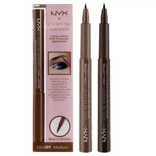 caneta delineadora de sobrancelhas nyx - eyebrow marker 1 pç