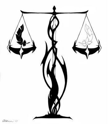 Symbol Libra Zodiac Tattoos