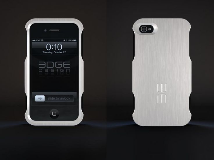 The Alfa Aluminum iPhone 4 Case: Iphone Cases, Iphone 4S, Aluminum Construction, Aluminum Iphone, Brushes Aluminum, Alfa Aluminum, Iphone 4 Cases