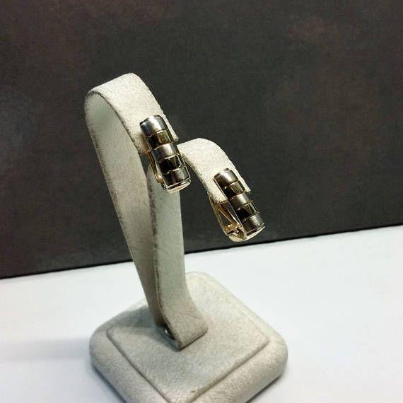 Ohrringe Ohrhänger Gelbgold Weißgold 585 rar OR115