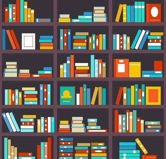 Bookshelf Seamless Background Book Wallpaper Seamless Background Butterfly Wallpaper Backgrounds
