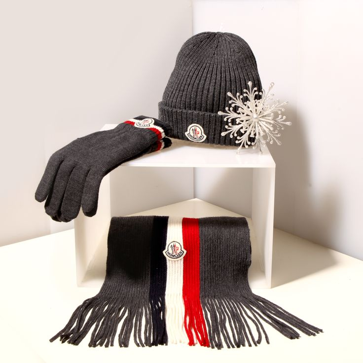 THE ULTIMATE WINTER ACCESSORIES GIFT. . . MONCLER