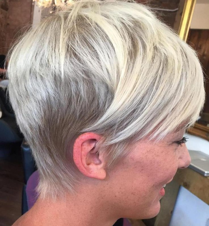 Layered Pixie With Side Bangs