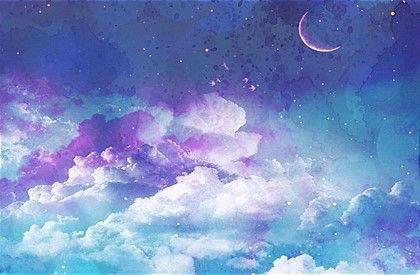 몽환 밤하늘 배경 반짝이 텍스쳐