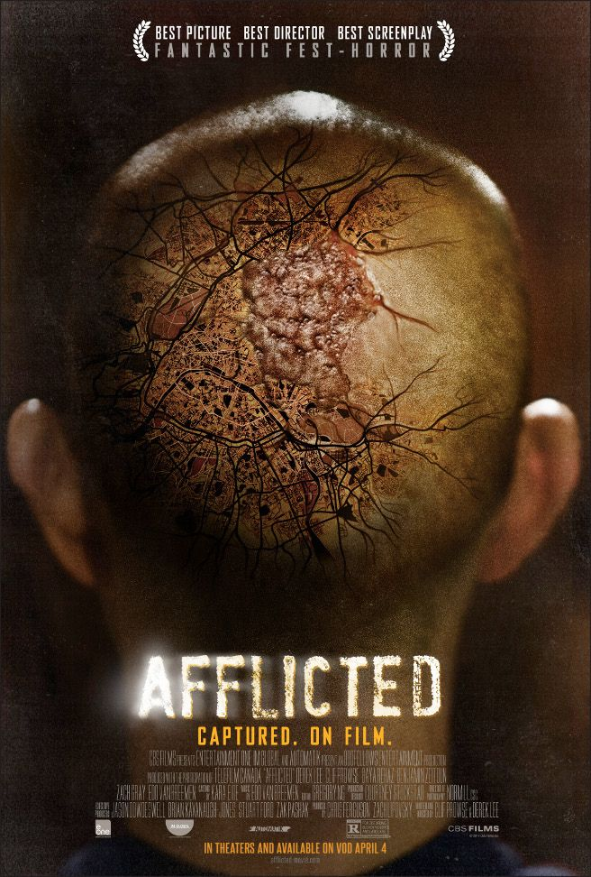 "Most people would be appalled by ""found footage"" kind of film but give Afflicted a chance before brushing it off, it packed quite a punch with nice production value and direction."