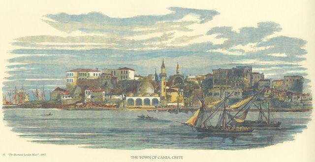 Hanya/ Girit Adası 1867