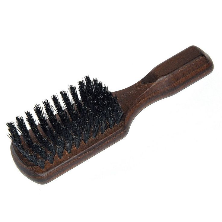 Men's Thermowood Ash Bristle Hair Brush - Made in Germany