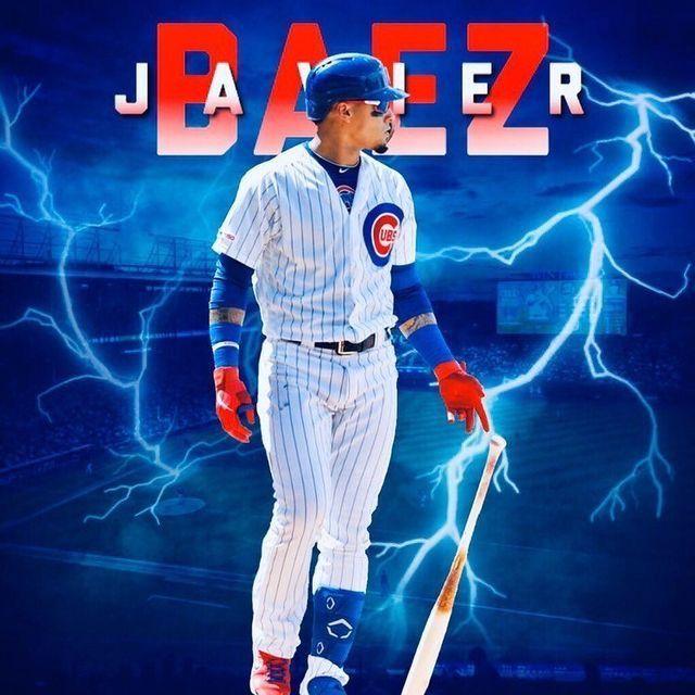 Javier Baez Chicago Cubs 9 Cubs Baseball Mlb Baseball Teams Cubs Players