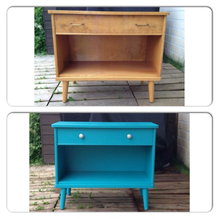 Found this old dresser at a flee market and made it new. #DIY #old #furniture #interior