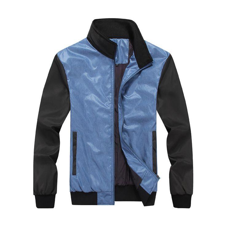 Cheap Envío gratis! la nueva primavera 2016 hombres de marca chaqueta impermeable de gama alta código de calidad 25 a 50 años viejos del viejo abrigo, Compro Calidad Chaquetas directamente de los surtidores de China:    Detalles del producto