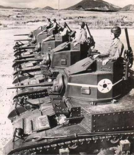 M3 Light Tanks Brazil, 1944