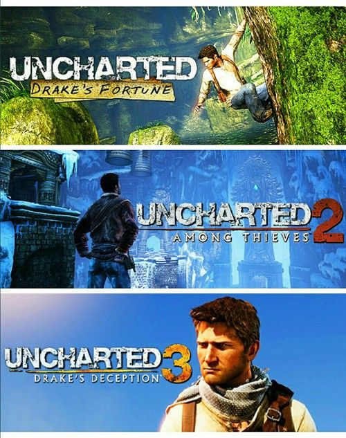 Uncharted Trilogy - When the collection comes out, fair warning, I'm probably taking a few days of work and avoiding social contact altogether. Unless it's about Uncharted.