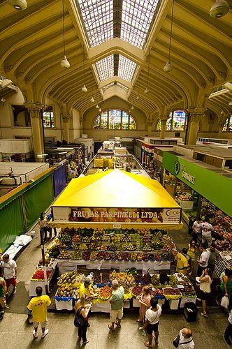 Mercado Municipal - São Paulo, Brazil