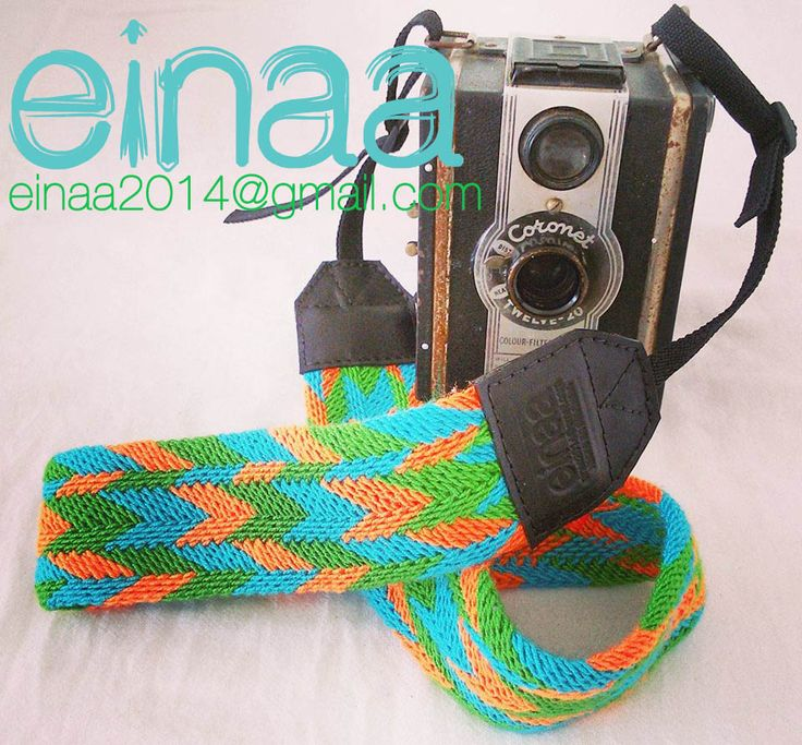 correas para cámara wayuu  accesorios para cámaras fotográficas