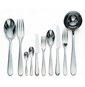 ALESSI - Nuovo Milano, cutlery flatware set - Alessi cutlery/flatware set / Ettore Sottsass