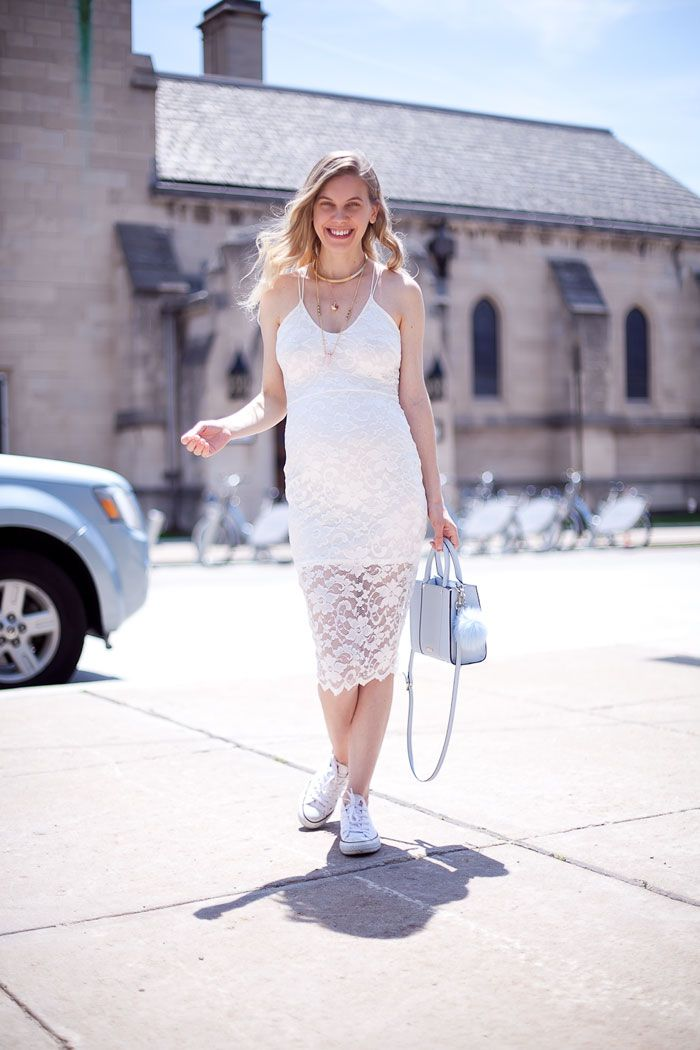 OUTFIT / White Lace | cocorosa