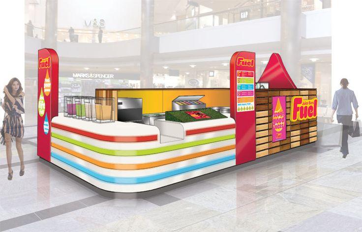 Fuel Juice Bars - Front concept sketch