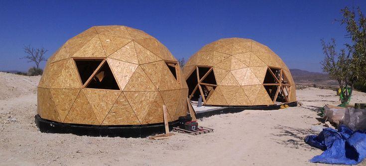 Construcci n vivienda geod sica jumilla casa domo en - Casas geodesicas ...