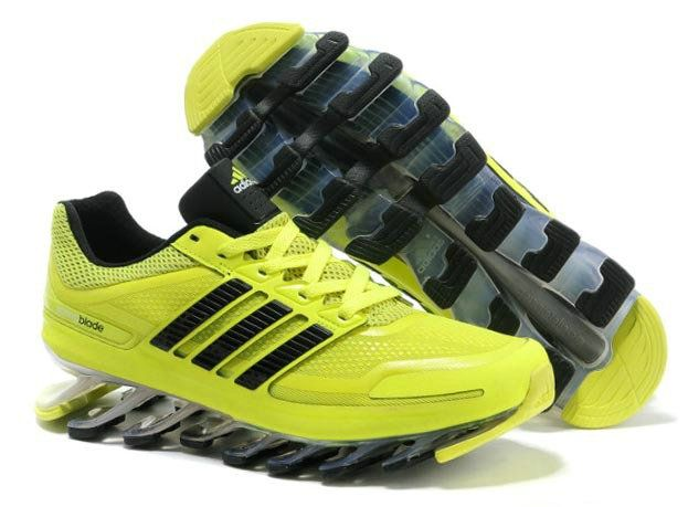Adidas Springblade Running Shoes Fluorescent Yellow Black  0ccb235578