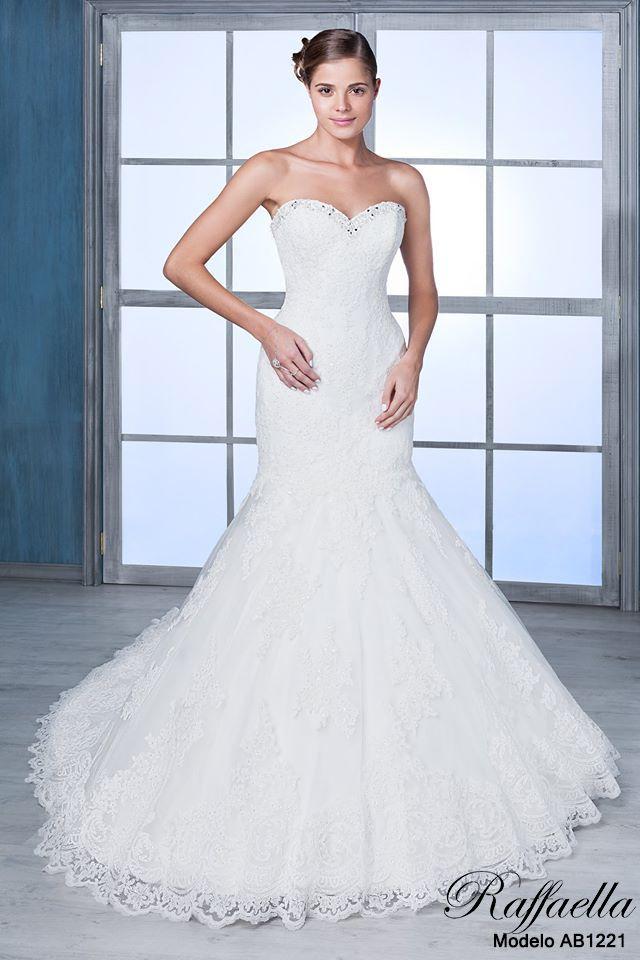 Sexy, femenino y elegante, son características del Modelo AB1221, ¡¡¡Está divino!!! #MiVestido #Novias #Raffaella