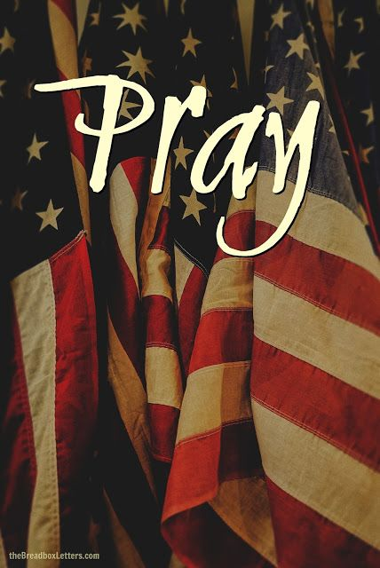 Now is the time in our nation to pray without ceasing. Pray that the new administration will be guided in making decisions for out nation in the coming years. e Breadbox Letters: What To Do